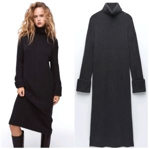 NWT ZARA WOMAN | Oversized Knit Dress